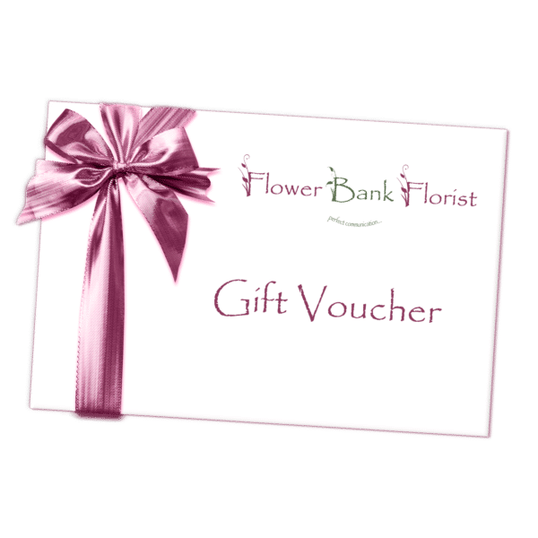 Gift Voucher Bouquet of Flowers Kirkby Lonsdale Florist