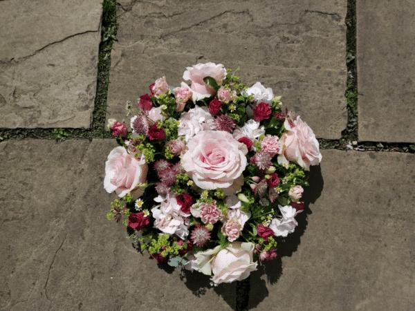 Flower Wreath Posy Funeral Flowers Kirkby Lonsdale Florist